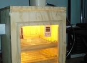 Incubadora semiautomática para huevos de