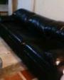 Juegos de Muebles Piel Italiana Color Negro