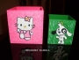 Cajas decoradas para regalo, recuerdos y
