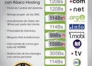Registro de dominios .com .net .org .info .mobi .tel .tv y más