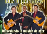 Trio de boleros y guitarras LOS IMPERIALES Caracas. Duo, show bailable.