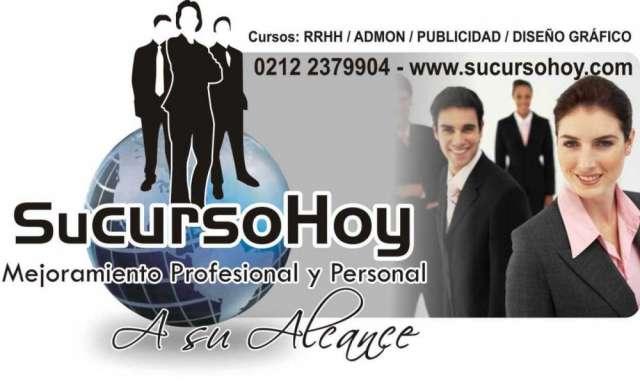 Cursos ejecutivos (rrhh / admon / ventas / marketing y publicidad / diseño gráfico)