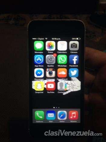 Vendo a buen precio iphone 5 blanco de 16gb digitel muy buen estado!