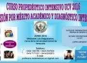 Curso Propedeutico UCV 2016 Ingreso Admision Prueba Integral