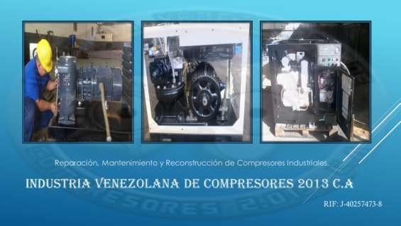 Servicio y mantenimiento de compresores industriales