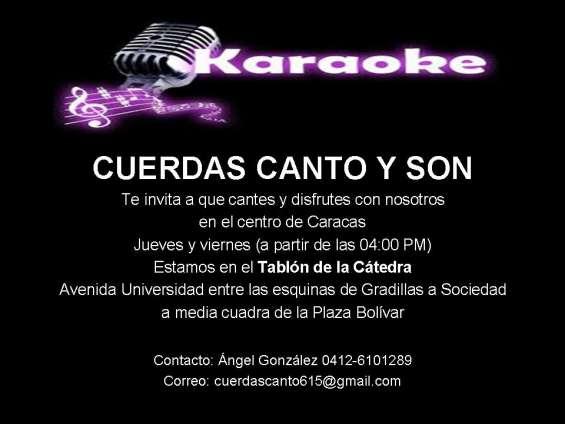 Celebra tu cumpleaños con karaoke