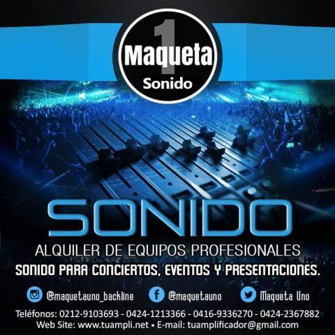 Alquiler de sonido profesional para eventos, conciertos, presentaciones.