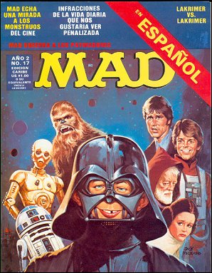 Buscando comics españoles mad revista