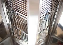 Campana, ducto, filtro y extractor