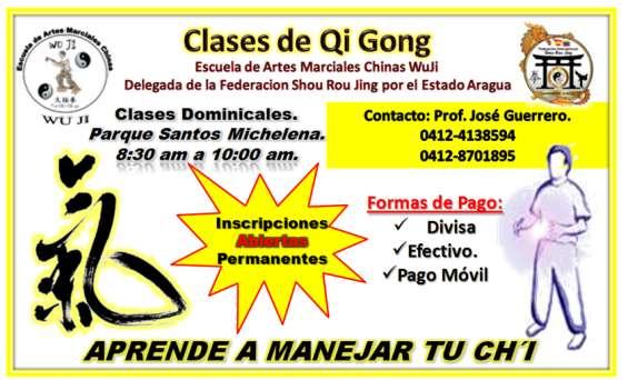 Clases de qi gong.