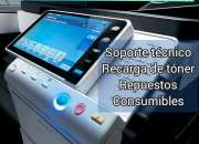 Mantenimiento de impresoras fotocopiadoras computadoras